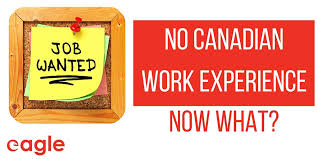 No Canadian Experience?